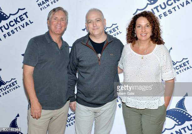 Epix presidentCEO Mark Greenberg film critic Matt Zoller Seitz and Epix founder Jill Burkhart attend 'TV and Talk Get Shorty' during the 2017...