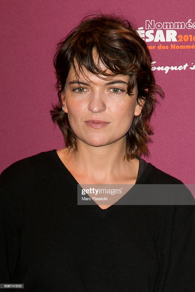 Eponine Momenceau attends the 'Cesar 2016- Nominee luncheon' at Le Fouquet's on February 6, 2016 in Paris, France.