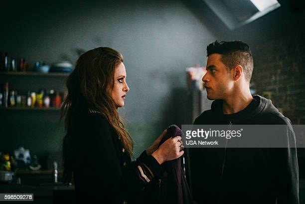 MR ROBOT 'eps27_init_5fve' Episode 209 Pictured Carly Chaikin as Darlene Rami Malek as Elliot Alderson