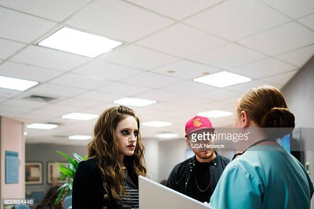 MR ROBOT 'eps28_h1ddenpr0cessaxx' Episode 210 Pictured Carly Chaikin as Darlene Michael Drayer as Cisco