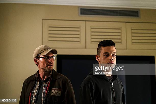 MR ROBOT 'eps28_h1ddenpr0cessaxx' Episode 210 Pictured Christian Slater as Mr Robot Rami Malek as Elliot Alderson