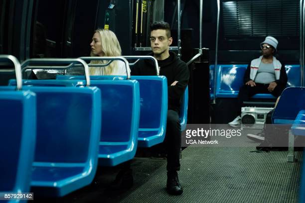 MR ROBOT 'eps30_powersavermodeh' Episode 301 Pictured Portia Doubleday as Angela Moss Rami Malek as Elliot Alderson