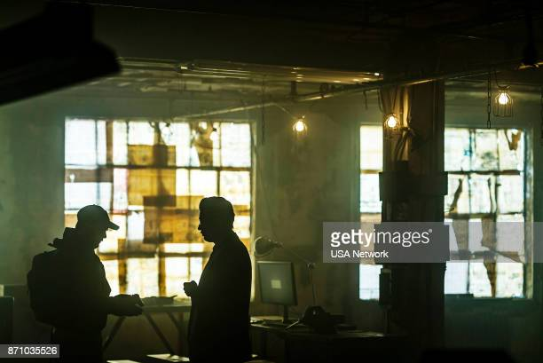 MR ROBOT 'eps32_legacyso' Episode 303 Pictured Martin Wallström as Tyrell Wellick Bobby Cannavale as Irving