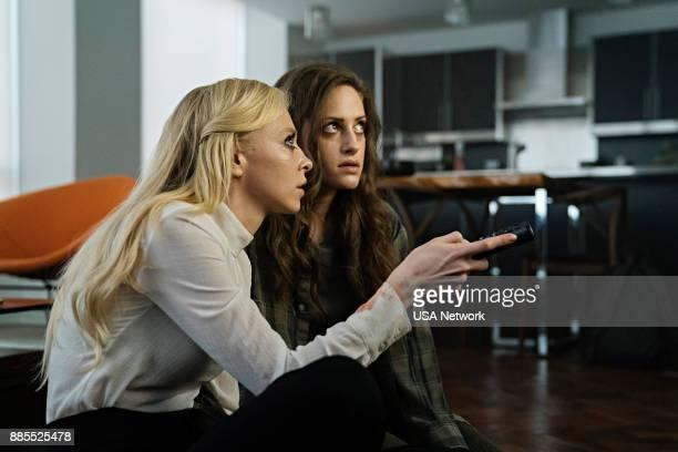 MR ROBOT 'eps36_fredricktanyachk' Episode 307 Pictured Portia Doubleday as Angela Moss Carly Chaikin as Darlene Alderson