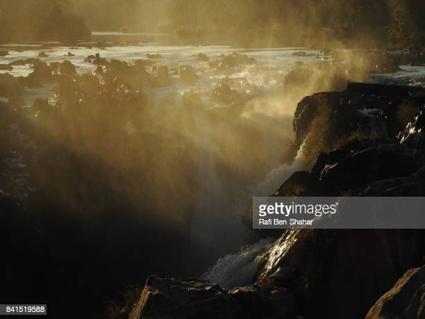 Epupa falls in the early morning