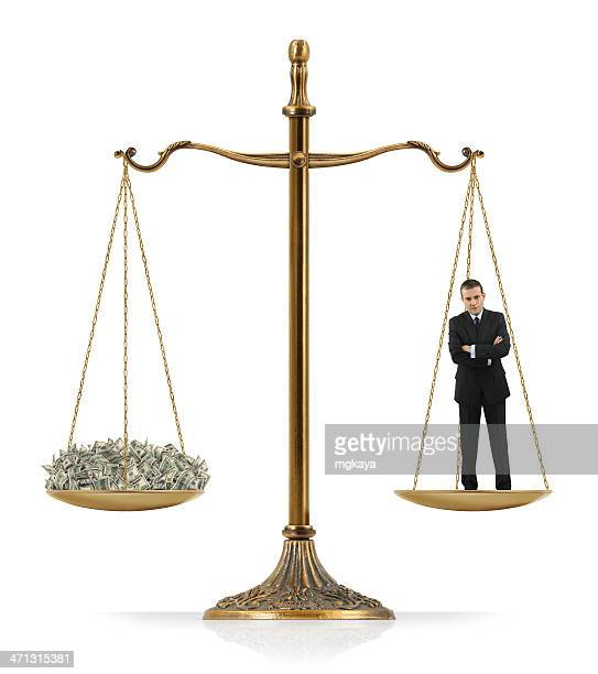 Equal Weighted: Businessman and Money
