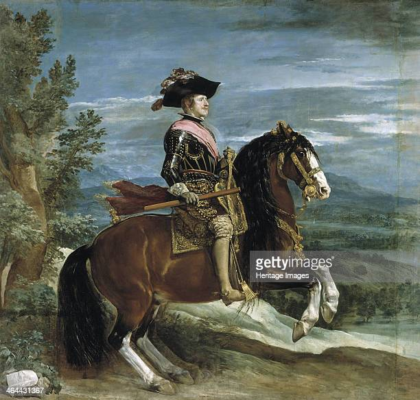 Equestrian Portrait of Philip IV of Spain 16301635 Found in the collection of the Museo del Prado Madrid