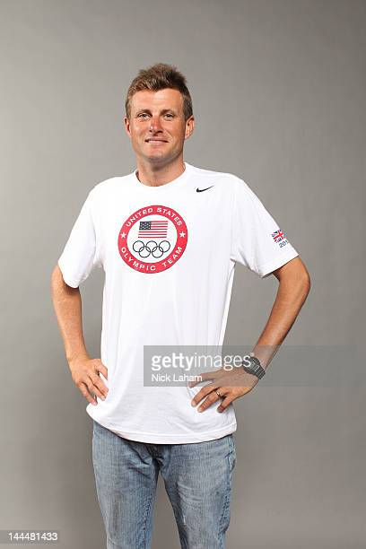 Equestrian team member Boyd Martin poses for a portrait during the 2012 Team USA Media Summit on May 14 2012 in Dallas Texas
