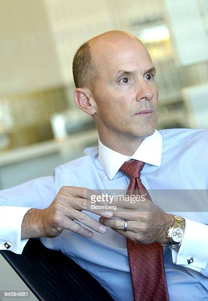 Equifax CEO Richard F Smith speaks with Bloomberg News reporters on Thursday March 15 in San Francisco California