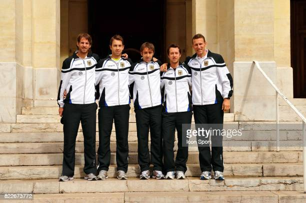 Equipe Allemagne Coupe Davis France / Allemagne Toulon