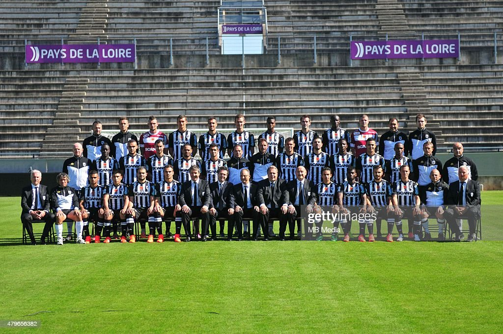 Equipe Angers Angers Photo Officielle Ligue 2 Photo Philippe Le Brech / Icon Sport/MB Media
