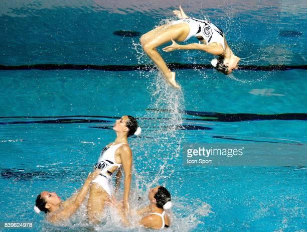 Equipe d Espagne Ballet Natation synchronisee Championnats du Monde de Natation 2007 Melbourne