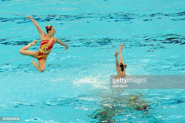 Equipe de Chine Natation synchronisee Finale par equipe Jeux Olympiques de Pekin 2008
