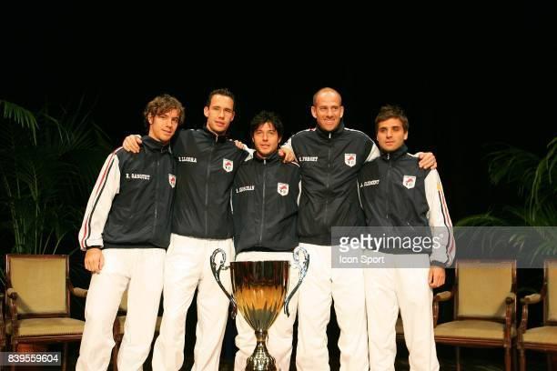 Equipe de France Tirage au sort de Coupe Davis Pau