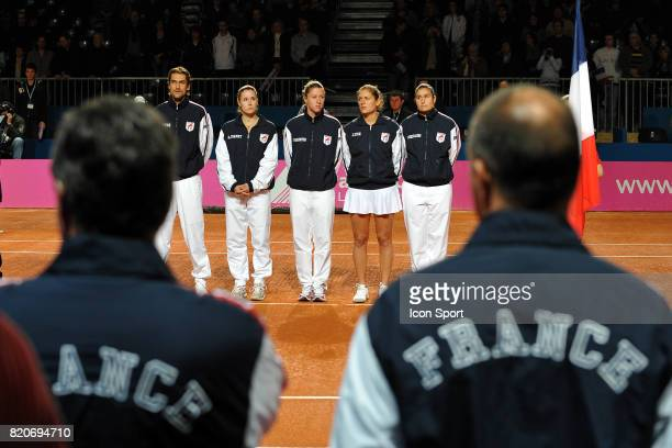 Equipe de France France / Usa Fed Cup 2010 Lievin