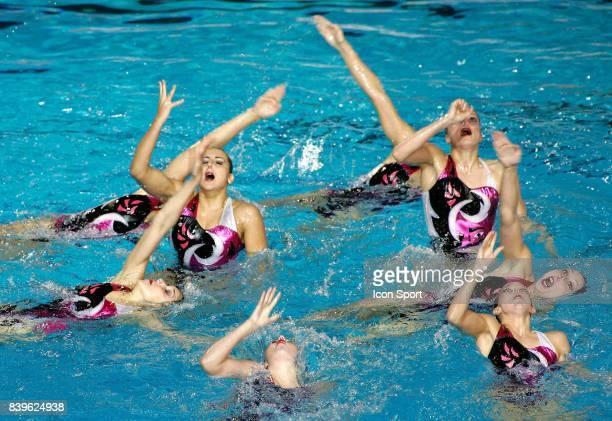 Equipe de France Ballet Natation synchronisee Championnats du Monde de Natation 2007 Melbourne