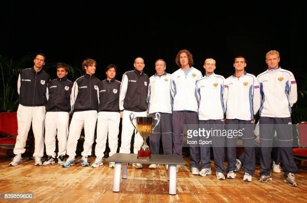 Equipe de France / Russie Tirage au sort de Coupe Davis Pau