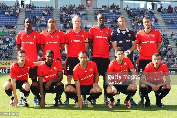 L'equipe de Rennes 2007/2008 Rennes / Tavriya Simferopol