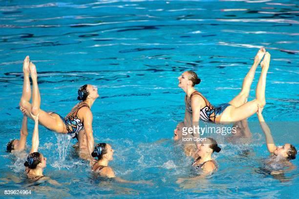 Equipe de Russie Ballet Natation synchronisee Championnats du Monde de Natation 2007 Melbourne