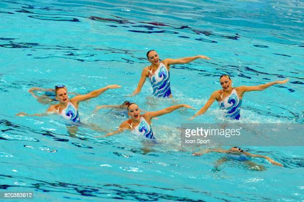 Equipe de Russie Natation synchronisee Finale par equipe Jeux Olympiques de Pekin 2008