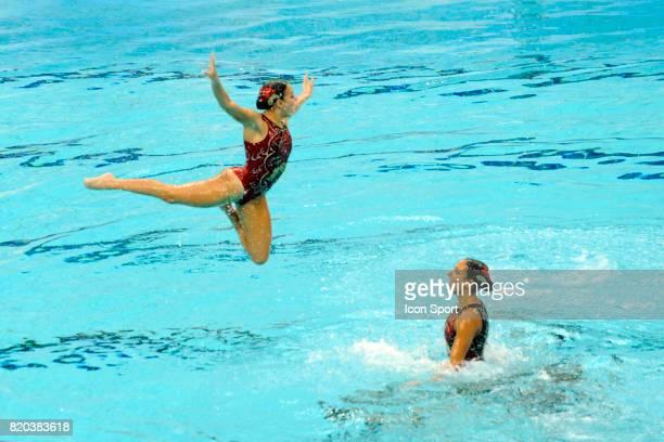 Equipe d'Egypte Natation synchronisee Finale par equipe Jeux Olympiques de Pekin 2008