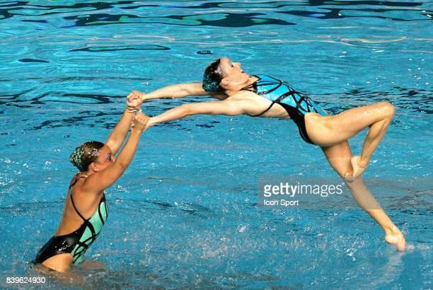 Equipe des Etats Unis Ballet Natation synchronisee Championnats du Monde de Natation 2007 Melbourne