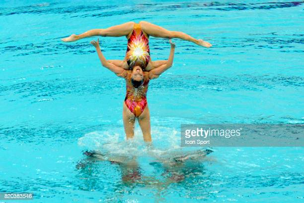 Equipe des Etats Unis Natation synchronisee Finale par equipe Jeux Olympiques de Pekin 2008
