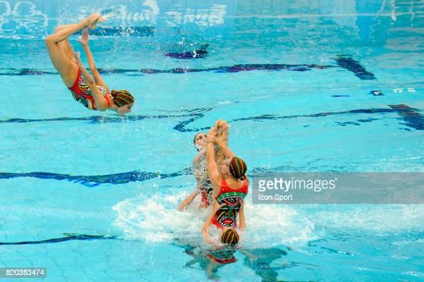 Equipe d'Espagne Natation synchronisee Finale par equipe Jeux Olympiques de Pekin 2008