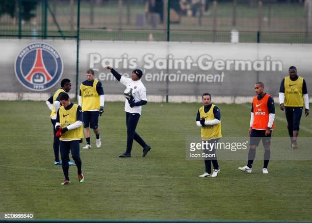Equipe du PSG / Antoine KOMBOUARE Entrainement du PSG Camp des Loges Saint Germain en Laye