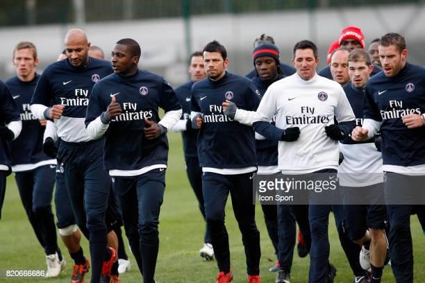 Equipe du PSG / Mateja KEZMAN Entrainement du PSG Camp des Loges Saint Germain en Laye