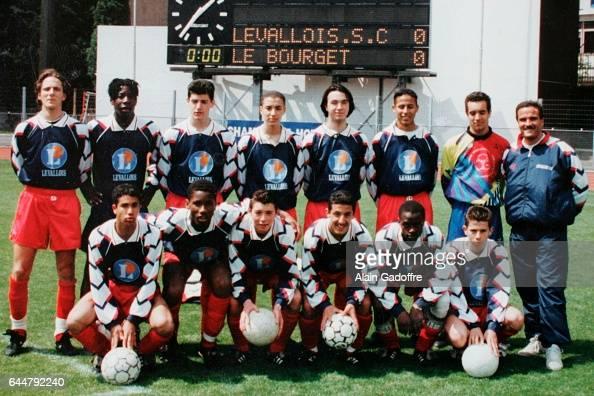 Equipe Levallois Perret Didier Drogba 2eme en bas a gauche Levallois Perret Photo Alain Gadoffre / Icon Sport
