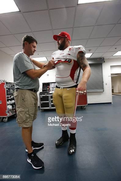 San Francisco 49ers Daniel Kilgore GAME Jerseys
