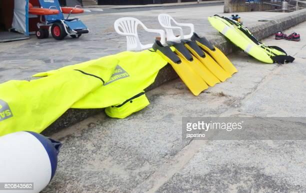 Equipment of beach watchmen