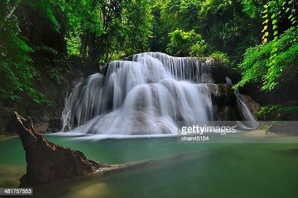 Erawan Waterfall at Kanchanaburi, Thailand