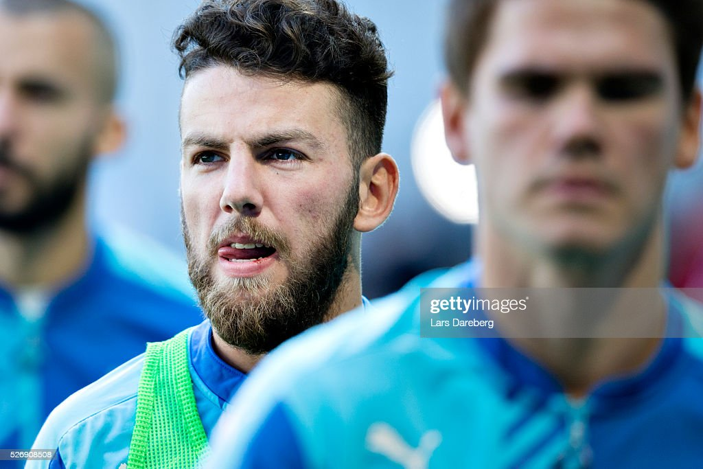 Erdal Rakip of Malmo FF before the Allsvenskan match between Malmo FF and BK Hacken at Swedbank Stadion on May 1, 2016 in Malmo, Sweden.
