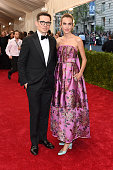 Erdem Moralioglu and Alexa Chung attend the 'China Through The Looking Glass' Costume Institute Benefit Gala at the Metropolitan Museum of Art on May...