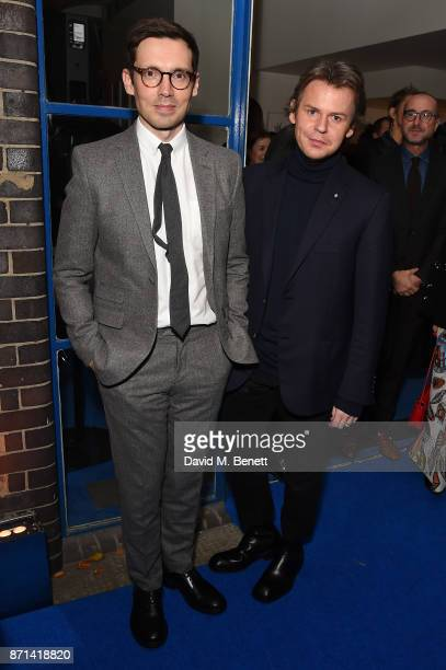 Erdem Moralioglu and Christopher Kane attend a dinner hosted by Jonathan Newhouse and Albert Read for Edward Enninful to celebrate the December issue...