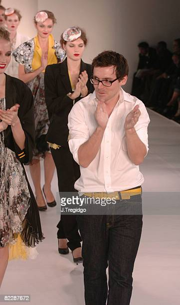 Erdem Moralioglu designer of Erdem at Fashion Fringe Spring/Summer 2006