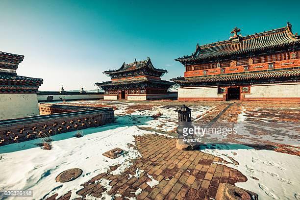 Erdene Zuu monastery of Karakorum, Old past capital of Mongolia
