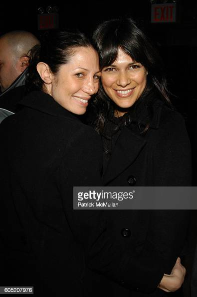 Ereka Dunn and Kathleen Barnea attend Joonbug hosts the launch of GoTrumpcom sponsored by Blue Star Jets at Marquee NYC USA on January 24 2006