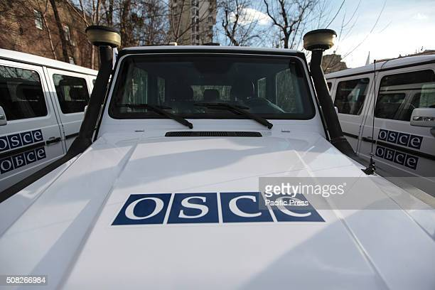eremony of transfer of 20 armored vehicles from the EU to special monitoring mission of the OSCE