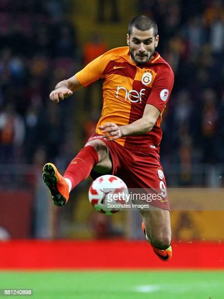 Eren Derdiyok of Galatasaray during the Turkish Cup match between Galatasaray v Sivas Belediyespor at the Türk Telekom Stadyumu on November 28 2017...