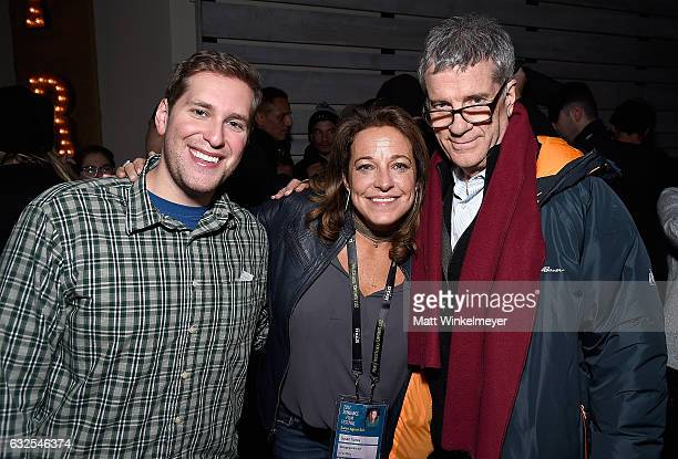 Erez Rosenberg Susan Turley and Peter Broderick attend the Film Independent International Documentary Association Oovra Music And RO*CO FILMS...