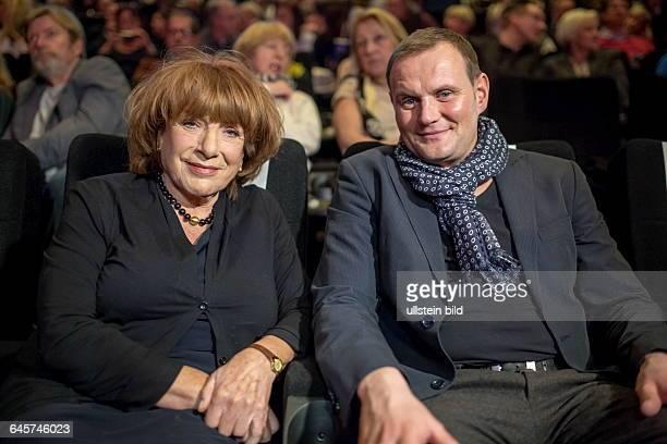 Eröffnung des 36 Max Ophüls Festivals Hannelore Hoger und Devid Striesow