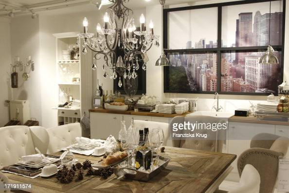 er ffnung des riviera maison stores in d sseldorf pictures getty images. Black Bedroom Furniture Sets. Home Design Ideas