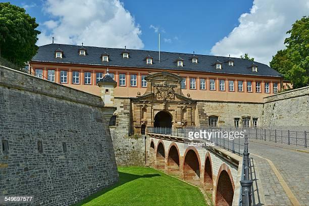 Erfurt Eingangstor der Zitadelle auf dem Petersberg