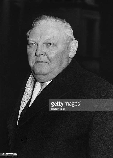 Erhardt Ludwig Politician CDU Germany*04021897Chancellor of West Germany 19631966 Portrait 1969