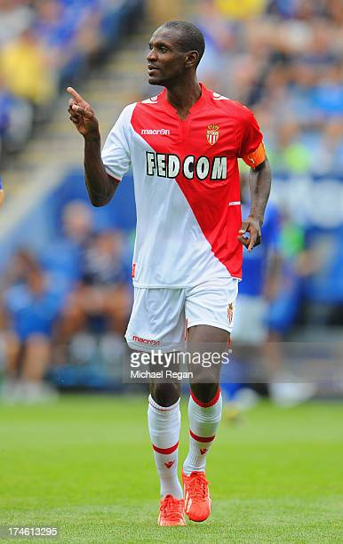 Eric Abidal of Monaco looks on during the the pre season friendly match between Leicester City and Monaco at The King Power Stadium on July 27 2013...