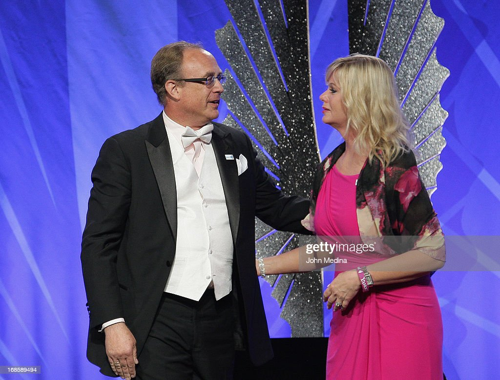 Eric and Karen Andresen share a moment during the 24th Annual GLAAD Media Awards at the Hilton San Francisco - Union Square on May 11, 2013 in San Francisco, California. Their son Ryan Andresen was refused Eagle Scout status because he is gay.