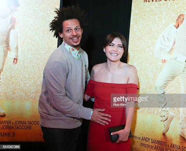 Eric Andre and Daniella Pineda attend the New York Premiere of 'Popstar Never Stop Never Stopping' at AMC Loews Lincoln Square 13 theater on May 24...